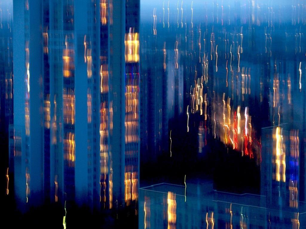 Vertikale Impression # Blick von der Skylounge © Claudia HaarmannKOM